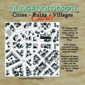 "6""x6"" City, Ruin & Villages DungeonMorph Font"