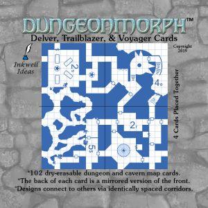"""DungeonMorph Delver, Trailblazer, & Voyager 2.5"""" Cards"""