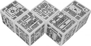 DungeonMorph Explorer Dice Set